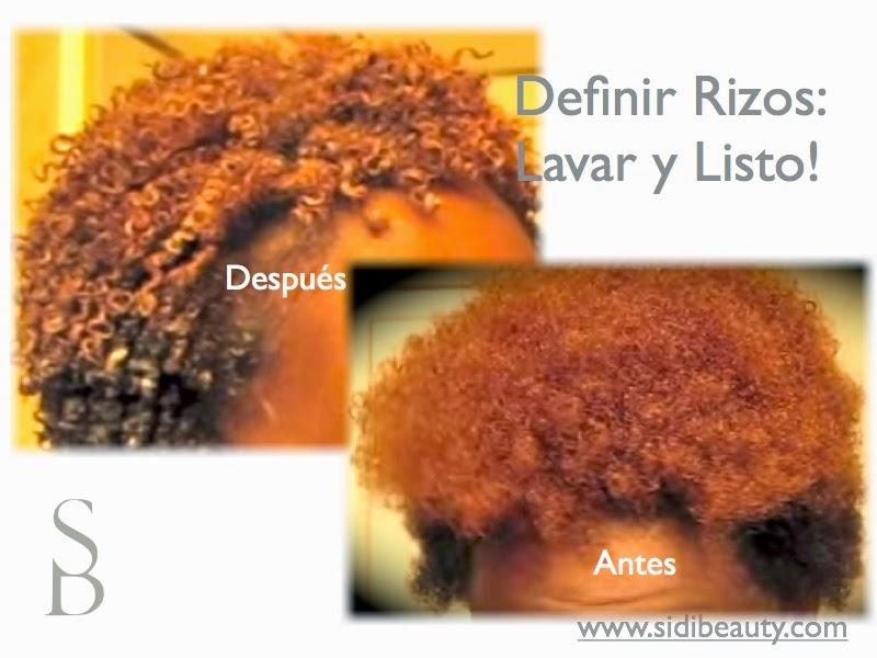 Definir Rizos pelo afro