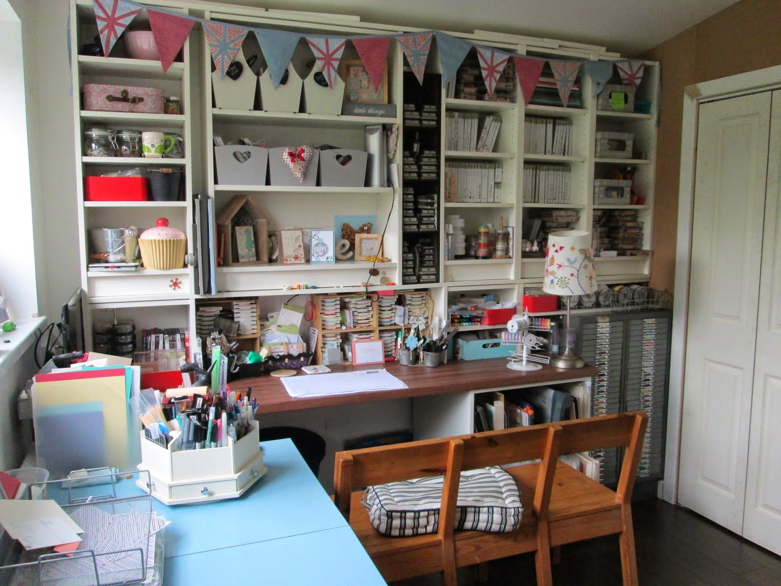 Take a look around my Crafty Space!