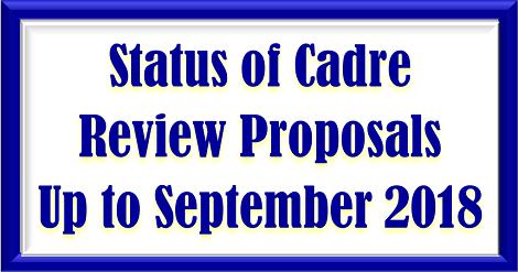status-of-cadre-review-upto-sptember-2018