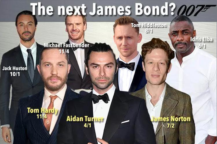 Next James Bond Odds