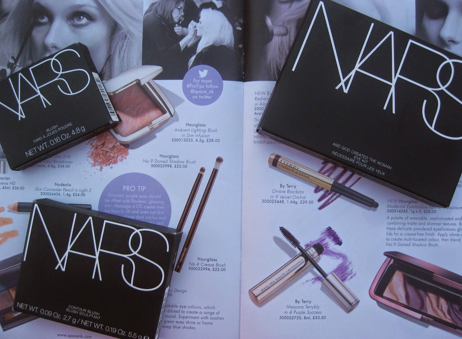 nars, haul, orgasm blush, god created the woman palette, nars eyeshadow, nars blush, nars contour, nars laguna, nars paloma,
