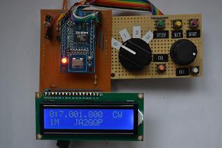 Arduino AD9850 DDS VFO Ver 1 2|freeml