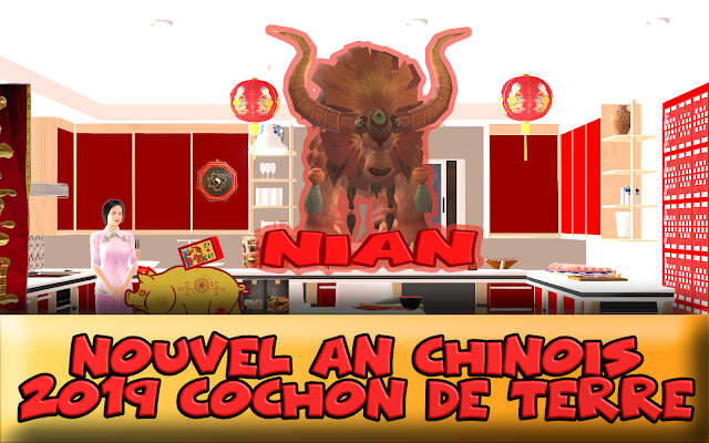 Que mange-t-on au Nouvel An Chinois, Chinese New Year Recipes