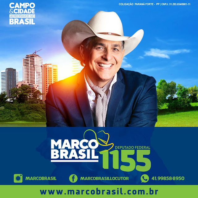 Marco Brasil candidato
