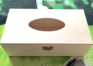 Drewniane pudełka na chusteczki