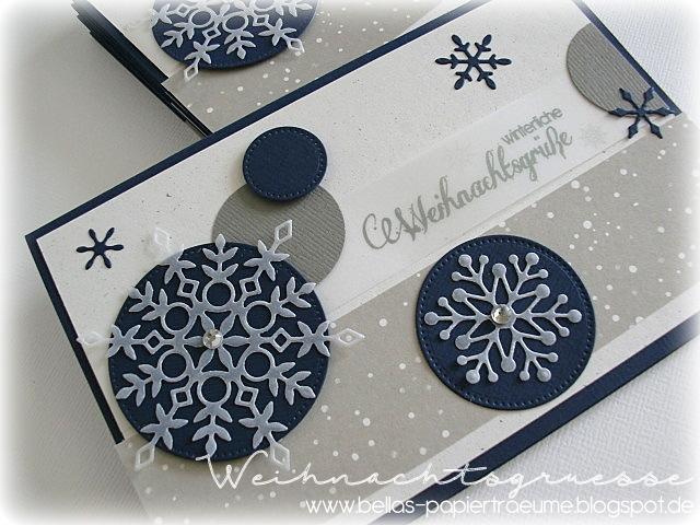 Winterliche Weihnachtsgrüße.Bellas Papierträume Winterliche Weihnachtsgrüße 15