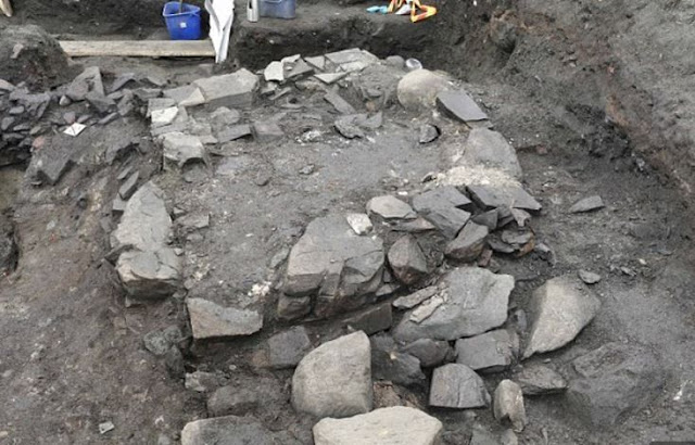 Archaeologists search for Viking settlement under saint-king's church