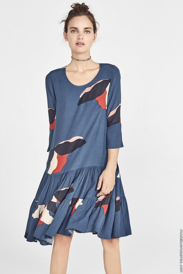 Vestidos de verano 2019. Moda primavera verano 2019. Moda mujer 2019.