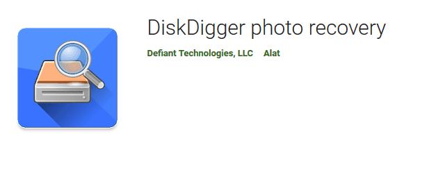 Aplikasi DiskDigger