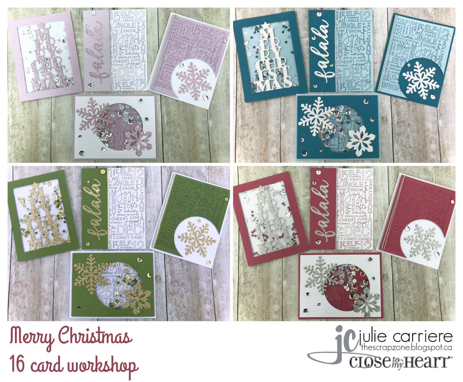 Merry Christmas Cardmaking Assembly Guide
