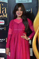 Monal Gajjar in Maroon Gown Stunning Cute Beauty at IIFA Utsavam Awards 2017 011.JPG