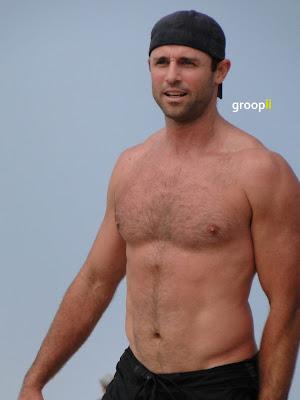 Curtis Jackson Shirtless At The Nvl Malibu 2011