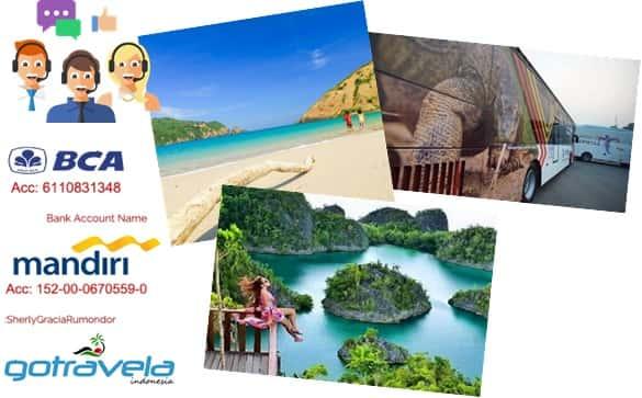 jasa rental mobil tour wisata Bali Lombok Sumbawa Raja Ampat