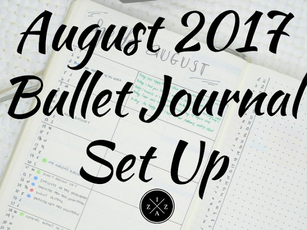 August 2017 Bullet Journal Set Up | Izza Glino