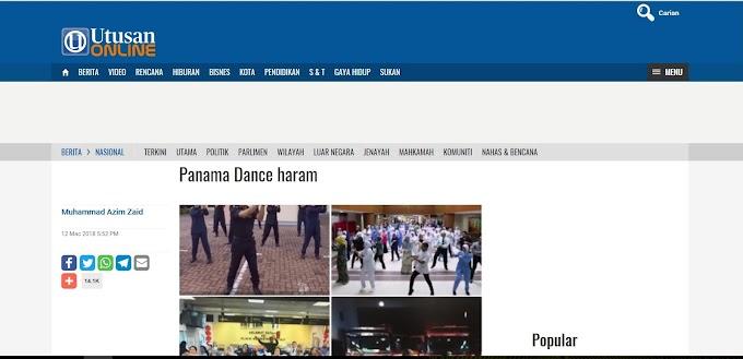Bagaimana Panama Dance boleh jadi haram?