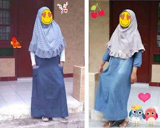 Model jilbab instan yang cantik