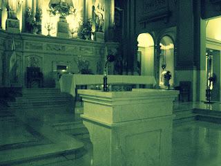 Altar da Iglesia San Nicolas de Bari, Buenos Aires