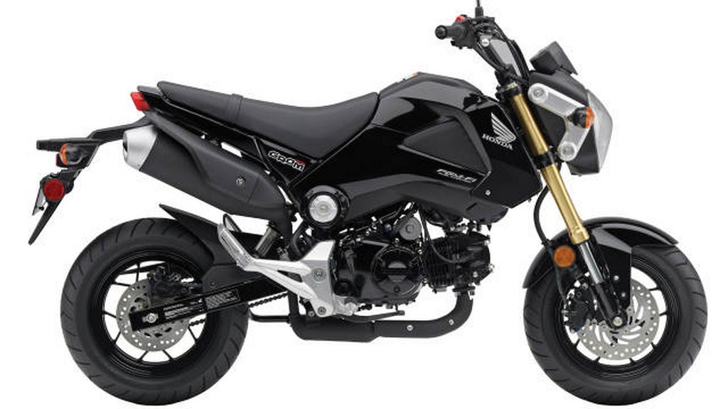 2014 Honda Grom TM Is A New Way To Add Number Of Fun Good Sense Self Determination And The Road Your Days Engine