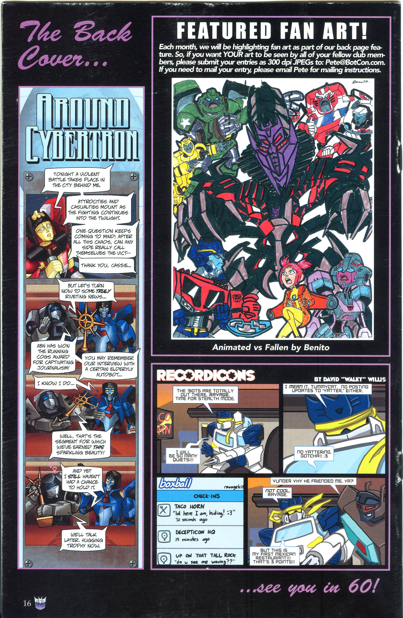 Read online Transformers: Collectors' Club comic -  Issue #39 - 16