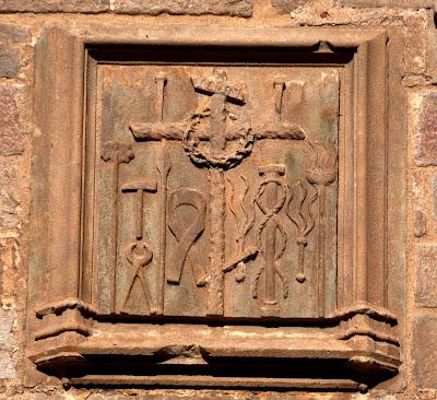 pasion flagelacion de cristo azote latigo medieval arma christi pia almoina