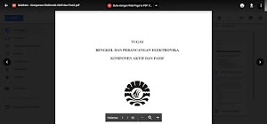 Makalah Lengkap Komponen Aktif dan Pasif pada Bidang Elektronika