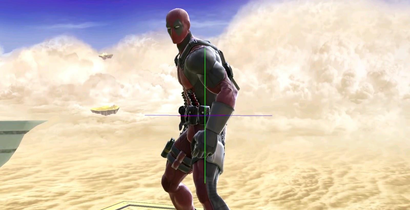 Super Smash Bros. Ultimate Gets Deadpool