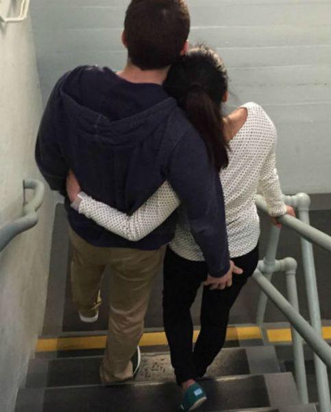 Una mujer resultó evidenciada luego de que tratara de exponer a su ex pareja