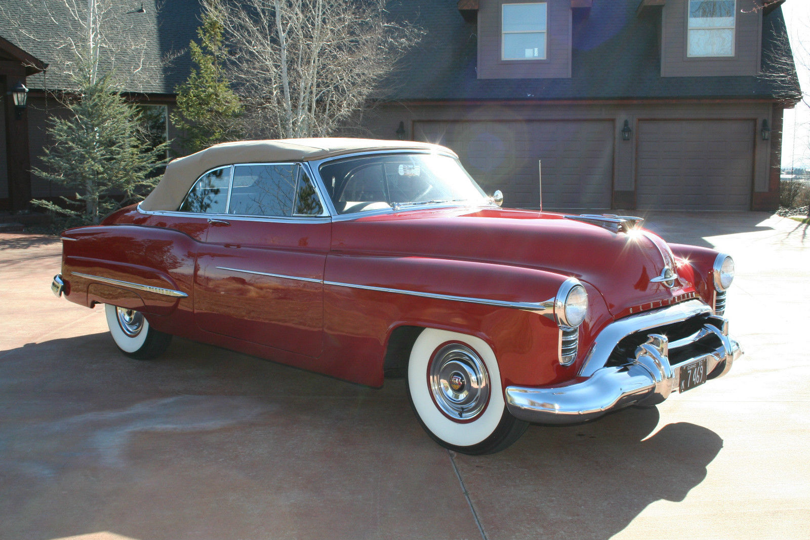 All american classic cars 1950 oldsmobile 98 deluxe 2 for American and classic cars