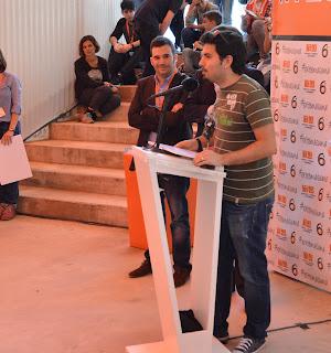 Discurso de Francisco Javier Cruz Domínguez ganador del diseño de logotipo para VI Plan de Juventud de Extremadura