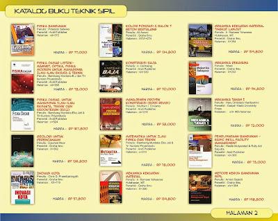 Katalog Buku teknik Sipil Halaman 2