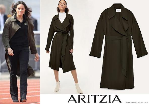 Meghan Markle wore Aritzia Babaton Bascom Trench Coat