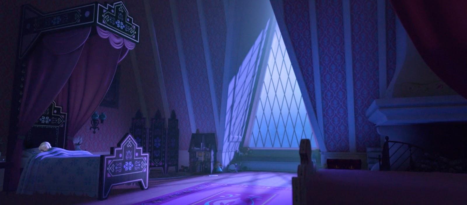 Gambar Elsa Frozen sedang tidur download gratis