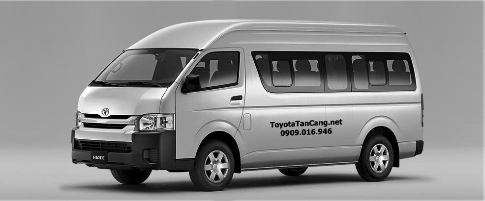 Chọn xe 16 chỗ Toyota Hiace hay Ford Transit ?