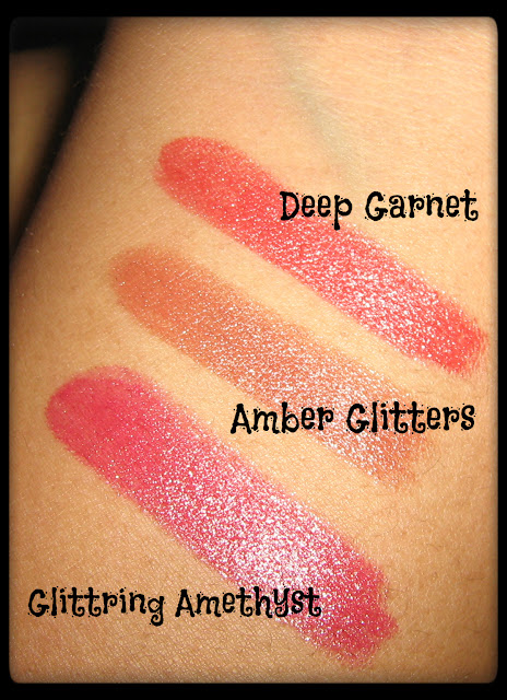 Avon Simply Pretty Lipstick Swatches 1