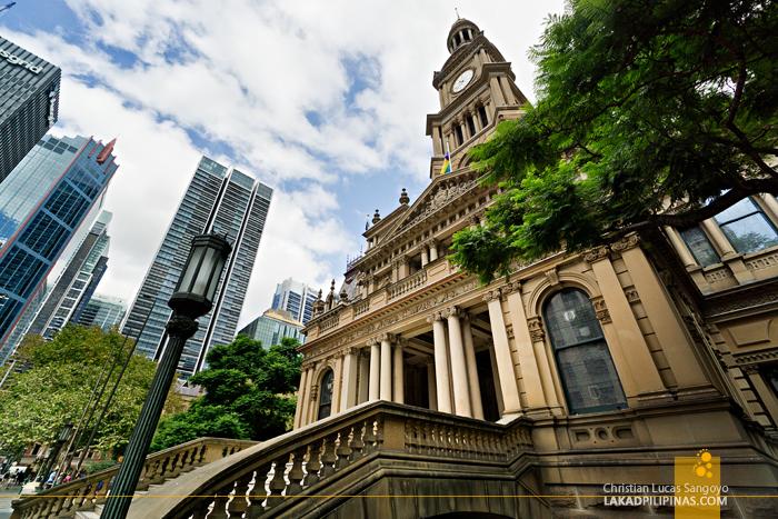 DIY Walking Tour Sydney Town Hall