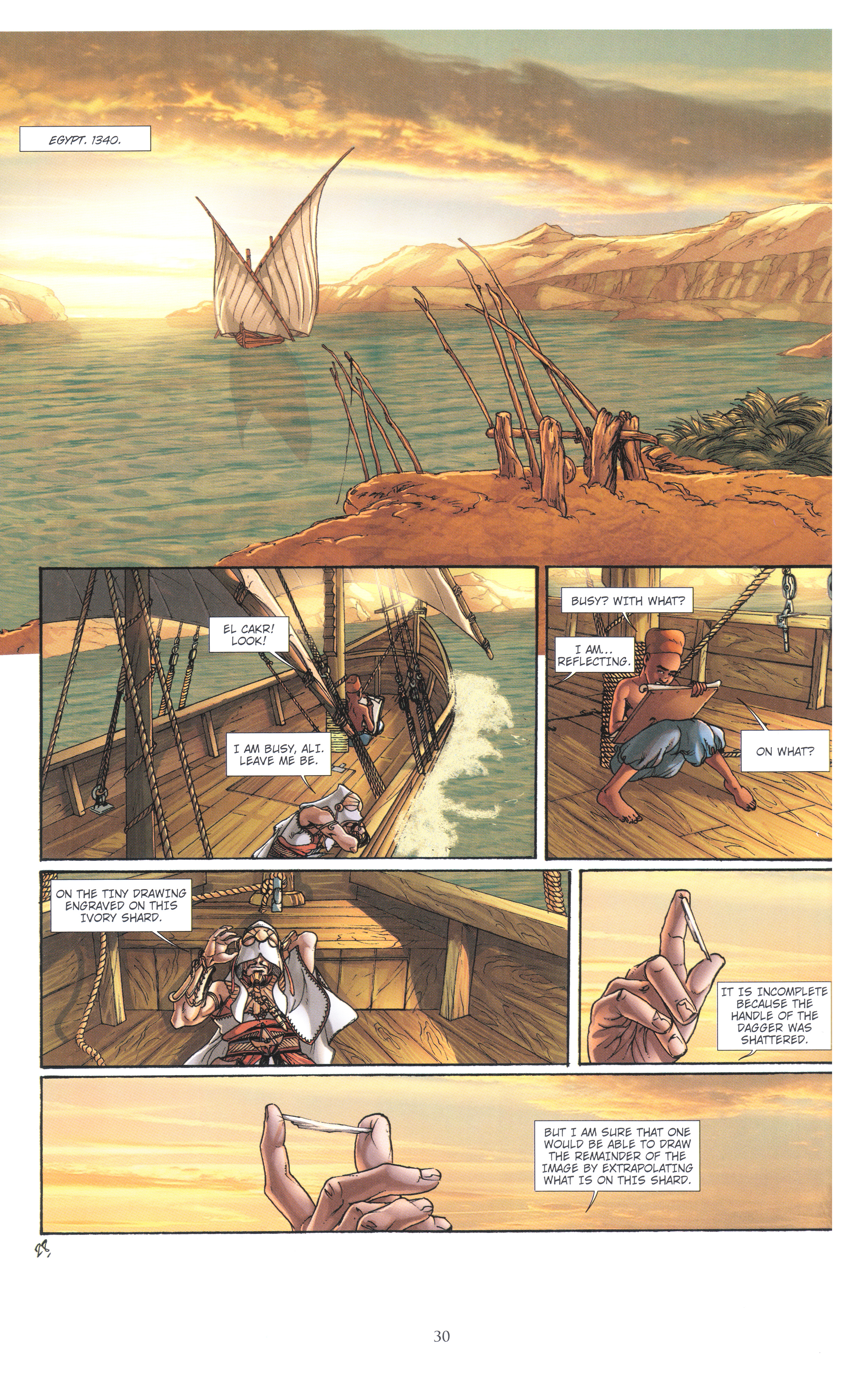 Read online Assassin's Creed (2012) comic -  Issue #4 - 30