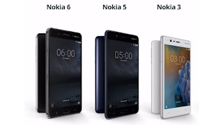 Nokia 3, 5,6 Smartphones launched in Finland