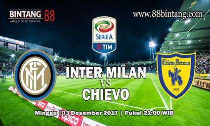 Prediksi Inter Milan vs Chievo 3 Desember 2017