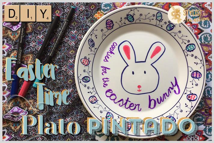Portada post plato pintado para Pascuas by Stylist in Action