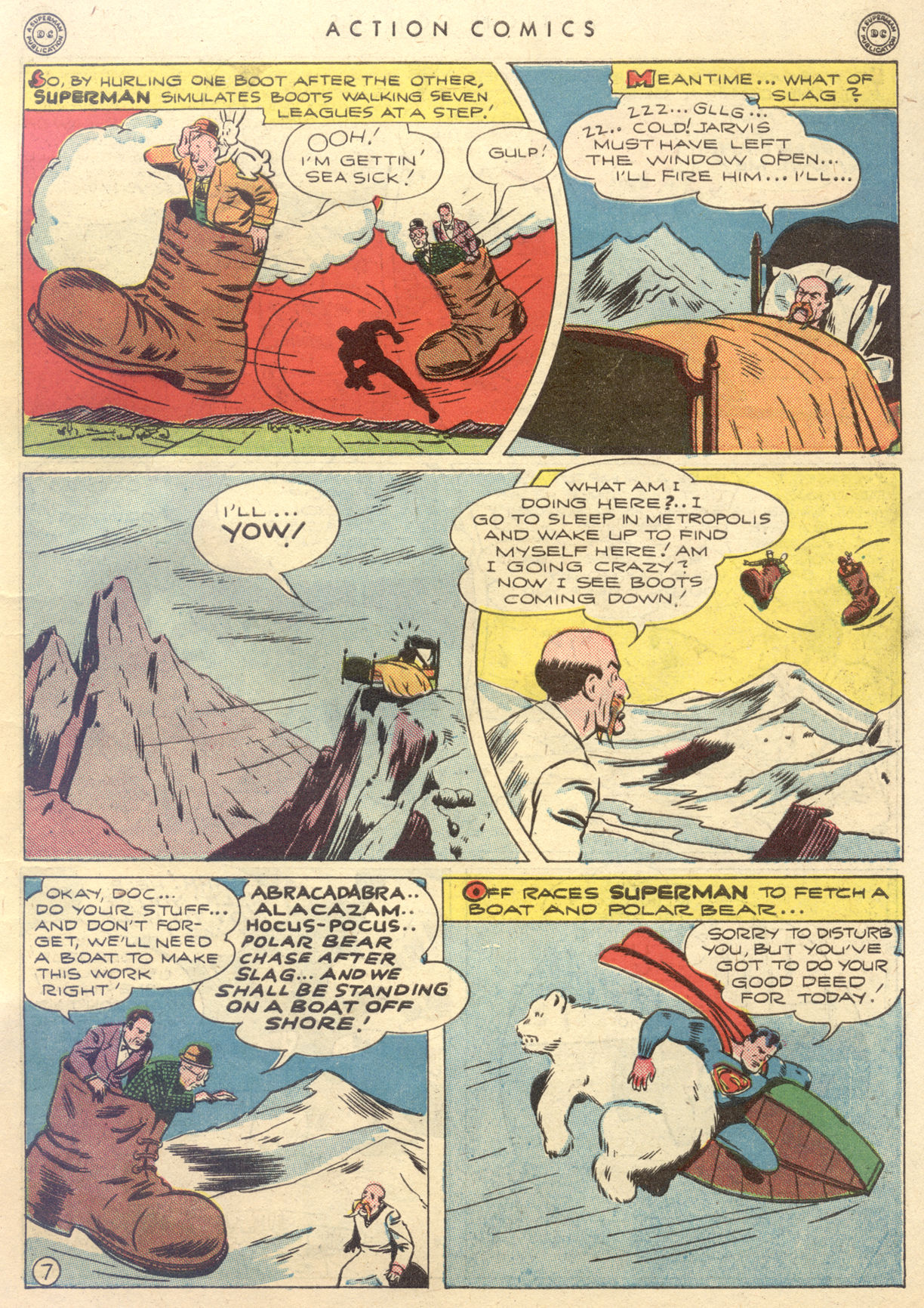Read online Action Comics (1938) comic -  Issue #88 - 9