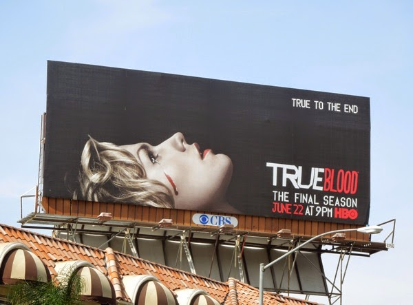 True Blood final season 7 billboard