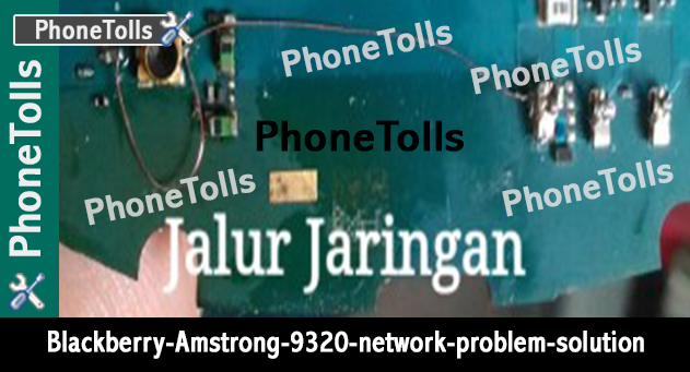 Blackberry Armstrong 9320 Network Problem Solution