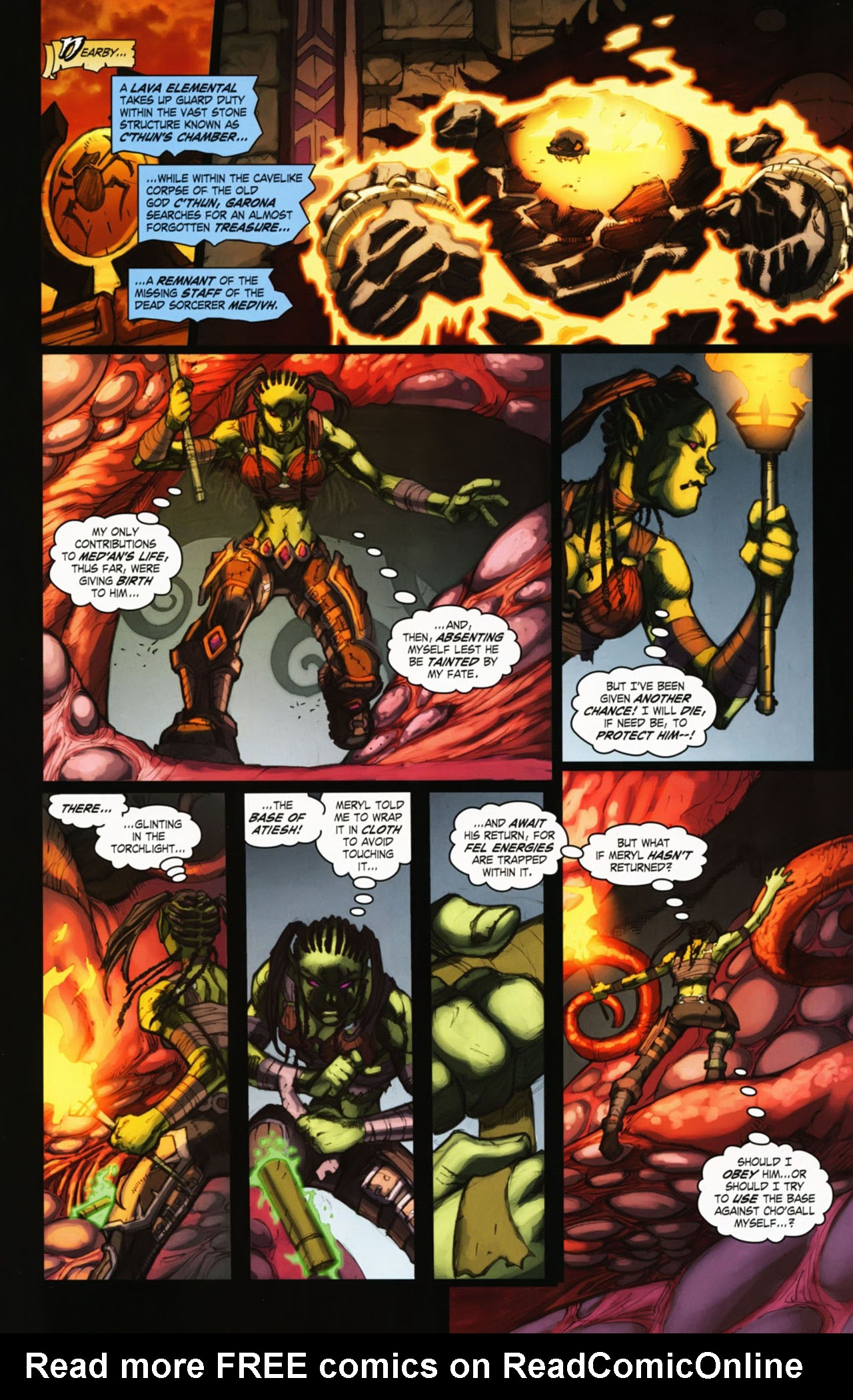 Read online World of Warcraft comic -  Issue #25 - 9