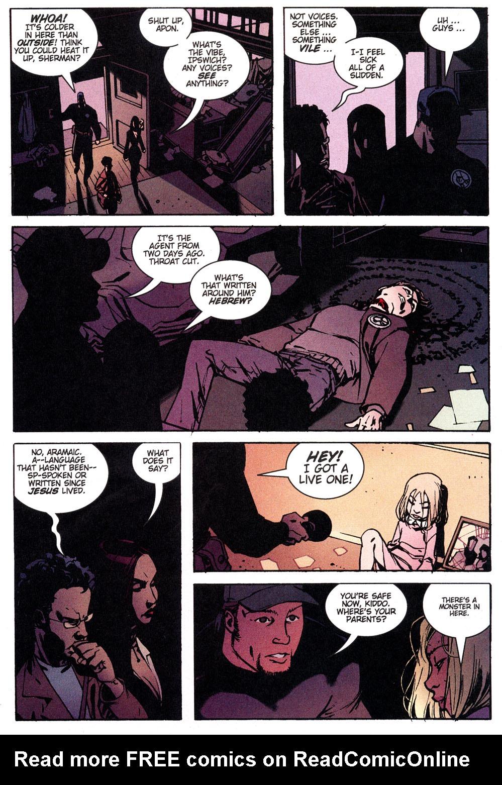 Read online Hellboy: Weird Tales comic -  Issue #4 - 6