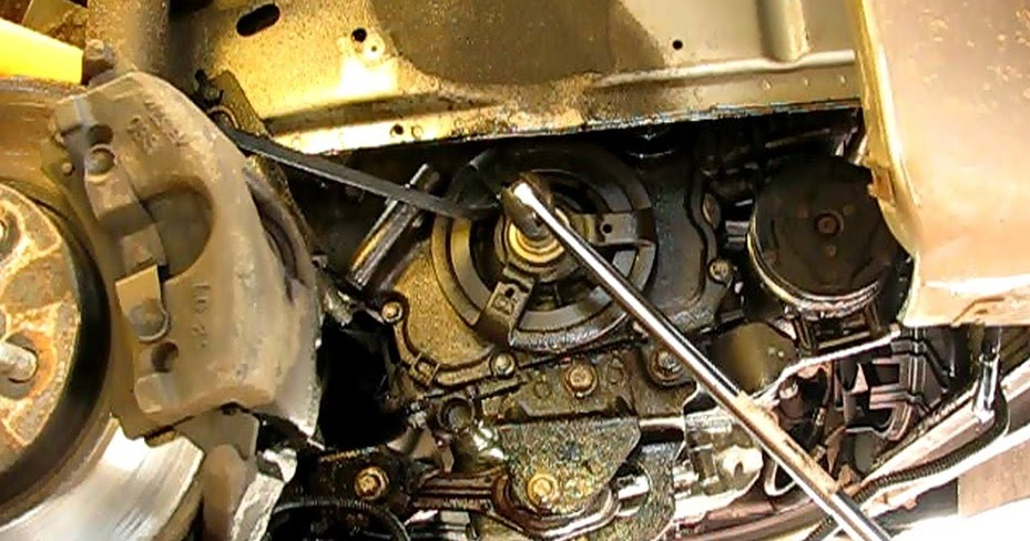The Original Mechanic Replacing the crankshaft front oil