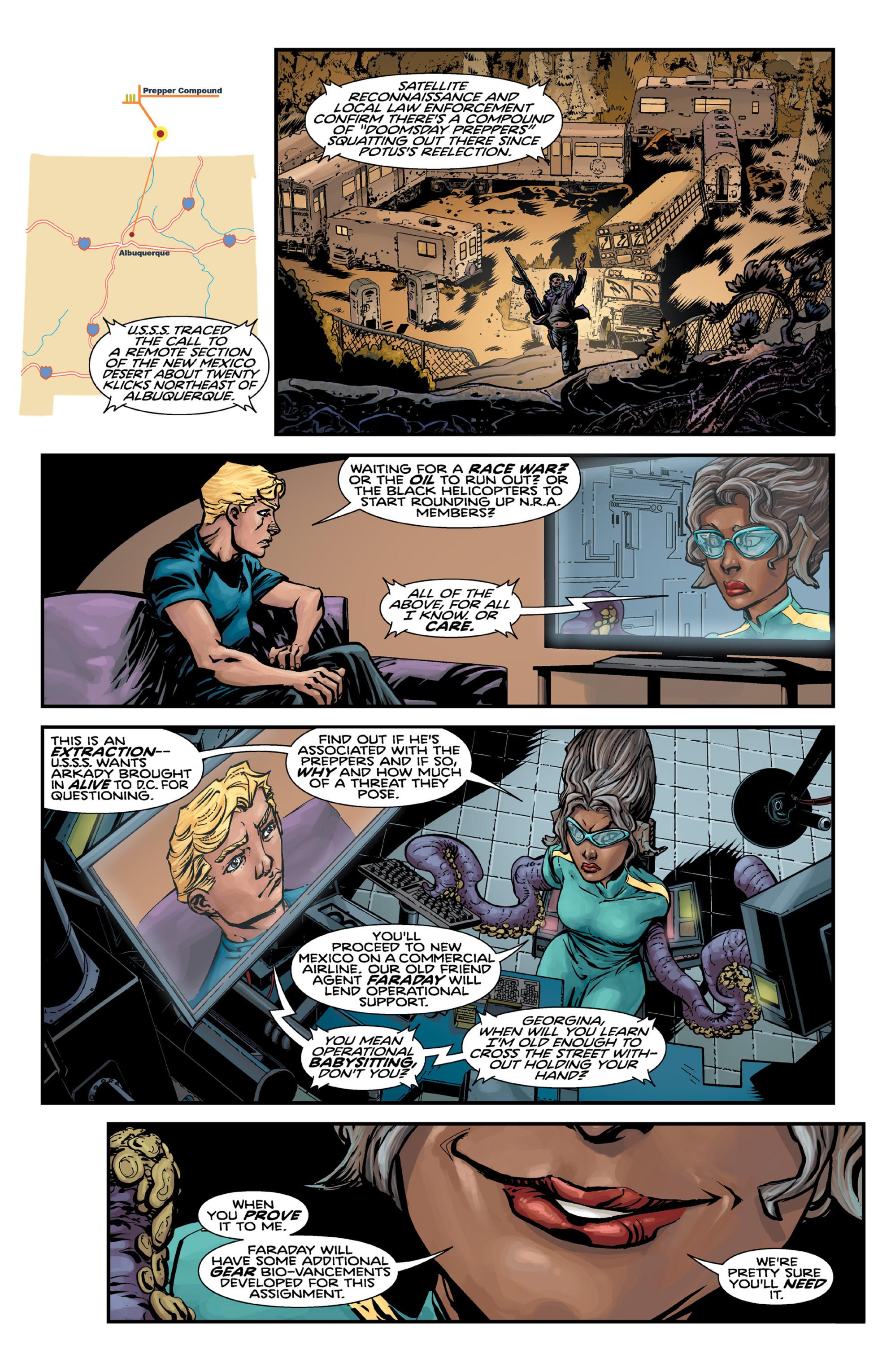 Read online Brain Boy:  The Men from G.E.S.T.A.L.T. comic -  Issue # TPB - 23
