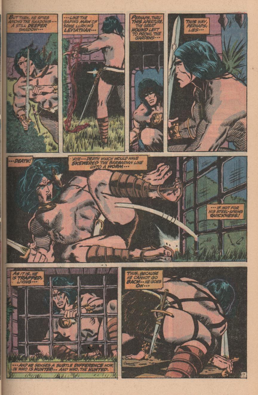 Conan the Barbarian (1970) Issue #11 #23 - English 23