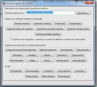 Imagen Audacity, Imagen Editor de audio, Foto Software libre, Foto aplicación multiplataforma, Imagen grabar audio, Imagen mezclar pistas, Foto efectos de audio, Foto Herramientas y/o área de captura de pantalla de Audacity