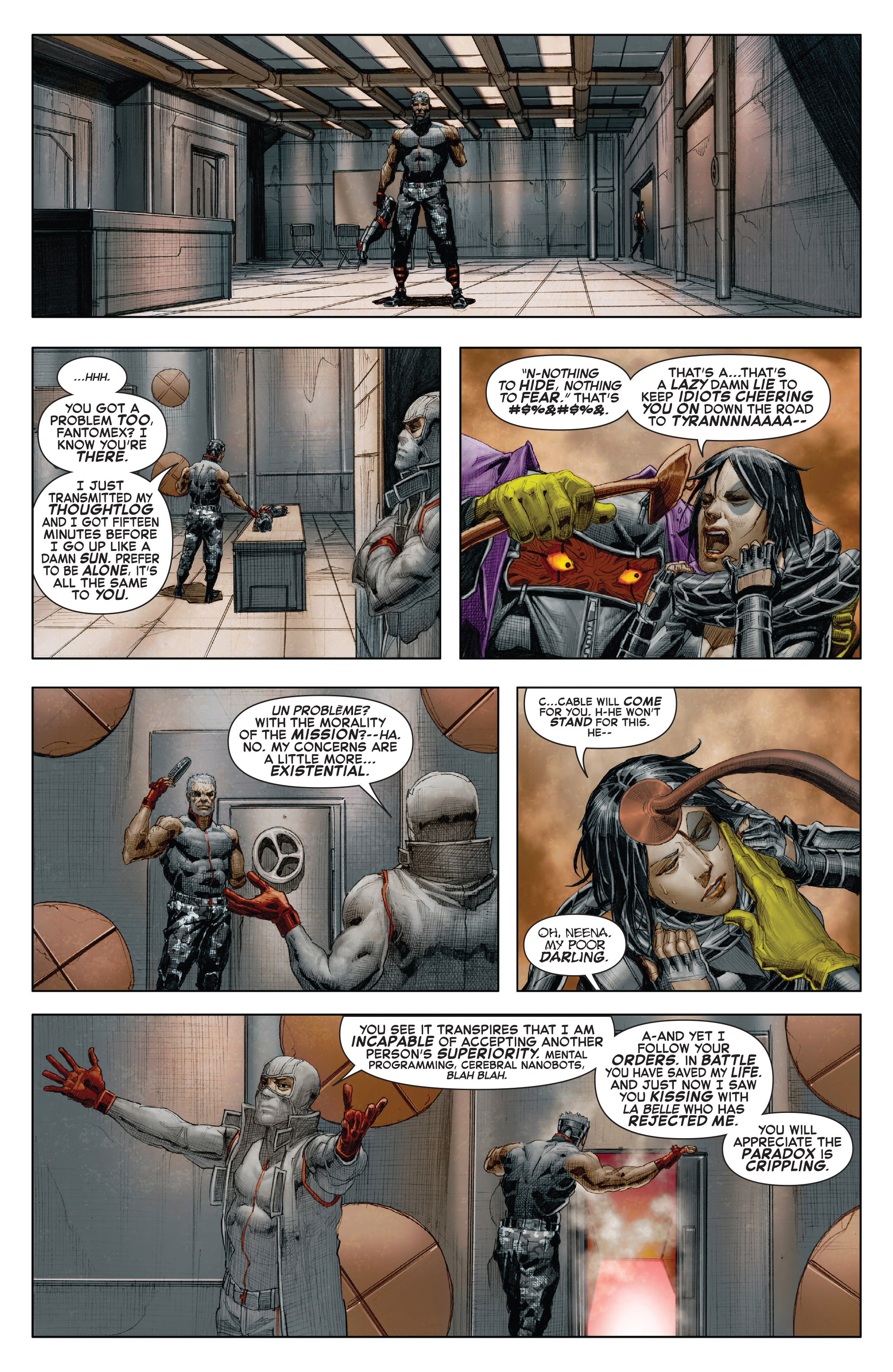 Read online X-Force (2014) comic -  Issue #7 - 19