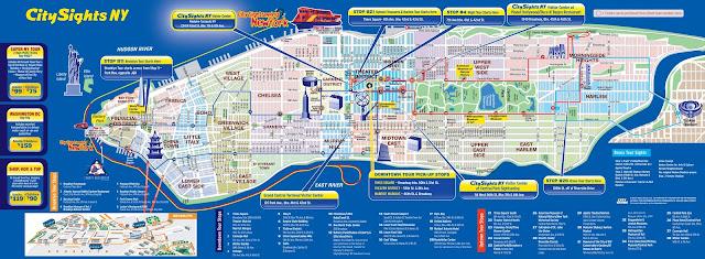 Áreas ou bairros de Manhattan e suas atrações